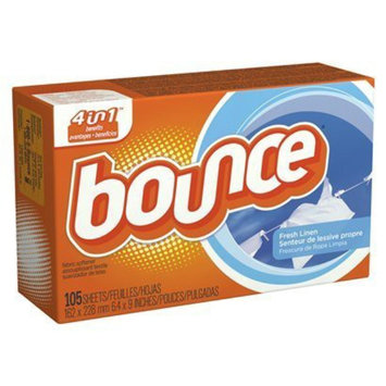 Bounce Fresh Linen Dryer Sheets - 105 Count
