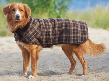 Fashion Pet Country Plaid Coat