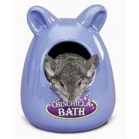 Super Pet Ceramic Large Chinchilla Bath, Colors Vary