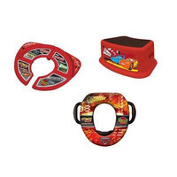Disney Soft Potty, Travel Potty and Step Stool Combo Set, Pixar Cars (Discontinued by Manufacturer) (Discontinued by Manufacturer)
