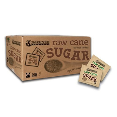 Wholesome Sweeteners SUGAR, RAW, PKT, FT