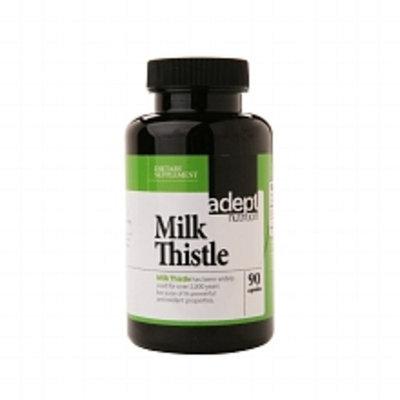 adept nutrition Milk Thistle, Capsules - 90.0ea