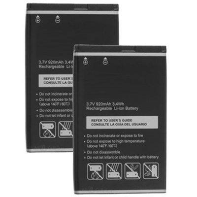 Battery for Pantech PBR-46A (2-Pack) Replacement Battery