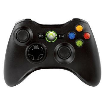 Microsoft Xbox 360 Wireless Controller - Black (Xbox 360)