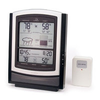 Chaney Instruments Big Screen Wireless Weather Station with Temperature, Humidity, Barometer, Clock and Calendar