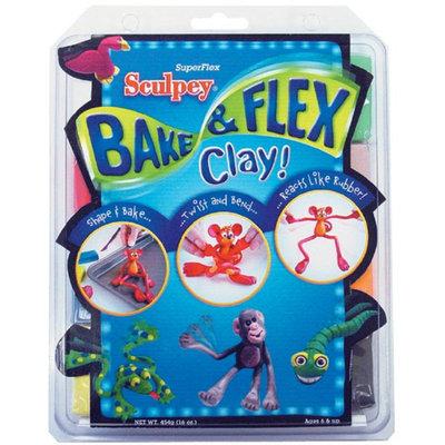 Sculpey Bake & Flex Clay-2 Ounces 8/Pkg