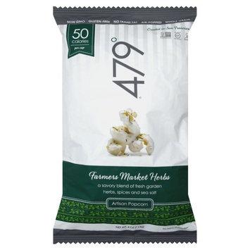 479 degrees Artisan Popcorn Gluten Free Farmers Market Herbs 4 oz