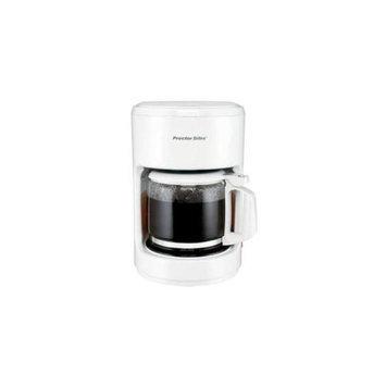 Proctor Silex 10 Cup Coffeemaker-White