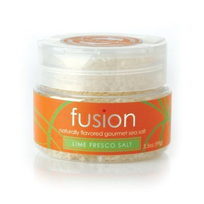 Saltworks Fusion Lime Fresco Sea Salt, 3.5 Ounce Jar