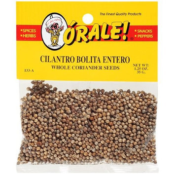 Orale Whole Coriander Seeds, 1.25 oz