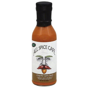 All Spice Cafe Chipotle Garlic Sauce, 12 oz, (Pack of 12)