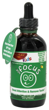 BioRay Kids - NDF Focus Tummy Brain Nurturing Herbal Drops Citrus - 4 oz.
