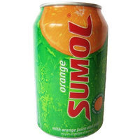 Sumol Laranja Orange Soda Portugal 12 oz. Cans 24 pack