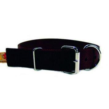 Hamilton Halter Company 1-3 4 D T Nylon Calf Collar Brown 36 Inch - DCC 36BR