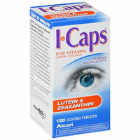 ALCON ICAPS Lutein & Zeaxanthin Eye Vitamin Supplement - 120 tablets