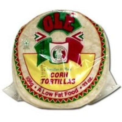 OLE White Corn Tortillas 36Ct, 27 Oz -- 12 Per Case.