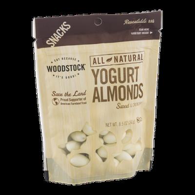 Woodstock All Natural Yogurt Almonds