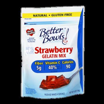 Better Bowls Strawberry Gelatin Mix