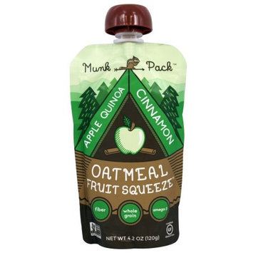 Munk Pack Oatmeal Fruit Squeeze Apple Quinoa Cinnamon 4.2 Issues - Vegan