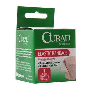 Curad Elastic Bandage with Hook and Loop Closures