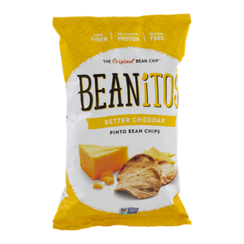 Beanitos Pinto Bean Chips Better Cheddar