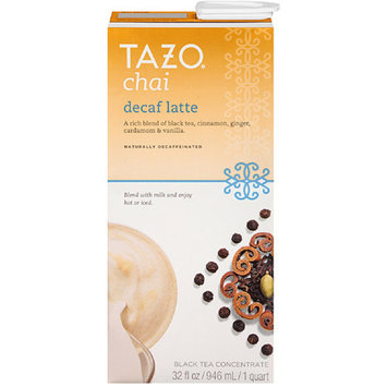 Tazo Chai Decaf Latte Black Tea