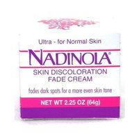 Nadinola Discoloration Fade Cream 2.25oz Normal Skin