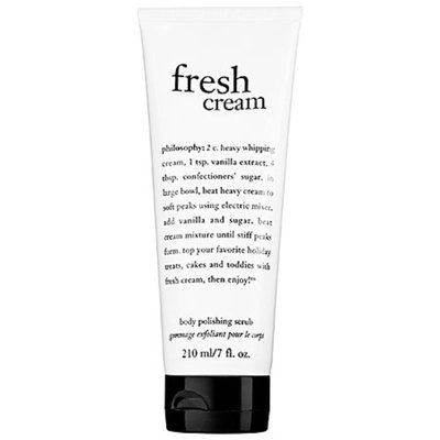 Philosophy philosophy fresh cream hot salt body scrub