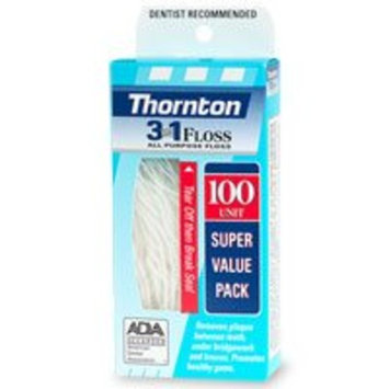 Thornton 3-in-1 All Purpose Floss 100 ea