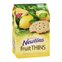 Nabisco Newtons Fruit Thins Crispy Cookies Lemon Crisp