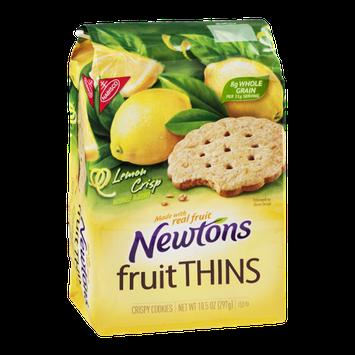 Nabisco Newtons Fruit Thins Crispy Cookies Lemon Crisp