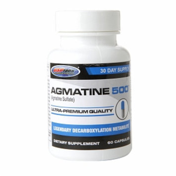 USPlabs Agmatine 500 Legendary Decarboxylation Metabolite, Capsules, 60 ea