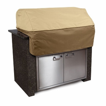 Veranda Collection Patio Island Grill Top Cover Large, Pebble, Bark and Earth, 1 ea
