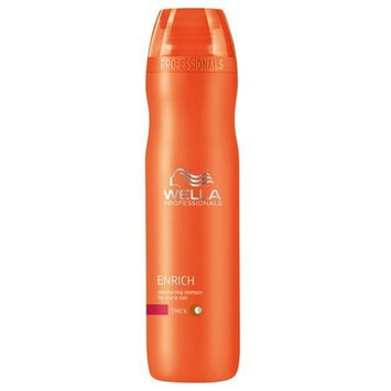 Wella Enrich Moisturizing Shampoo for Coarse Hair for Unisex, 10.1 Ounce