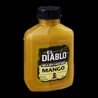 El Diablo Mango Medium Hot & Spicy Mustard