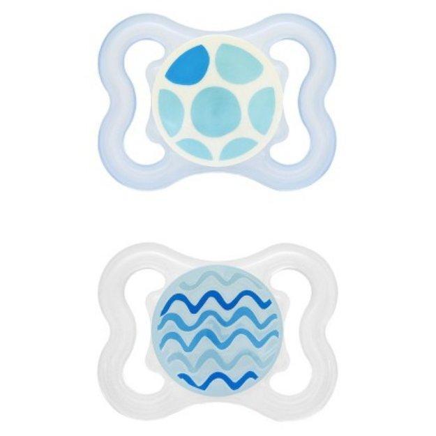 Mam Pacifier Mini Air for 0-6 Months (2 Pack)