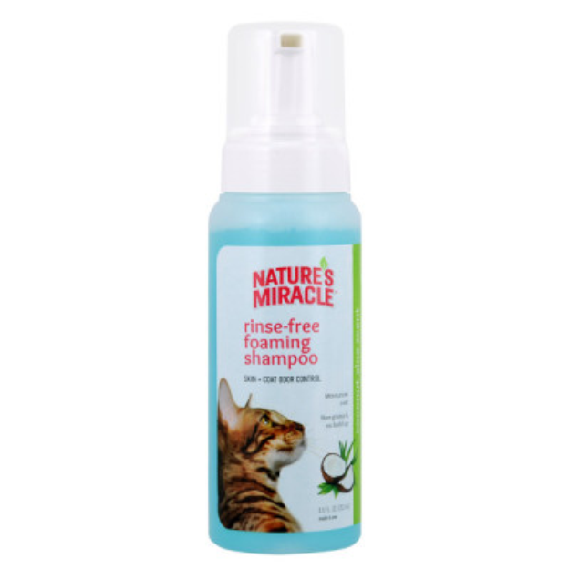 Nature's Miracle® Rinse-Free Foaming Shampoo