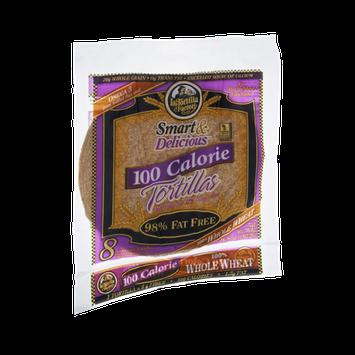 La Tortilla Factory Smart & Delicious 100 Calorie Whole Wheat Tortillas - 8 CT