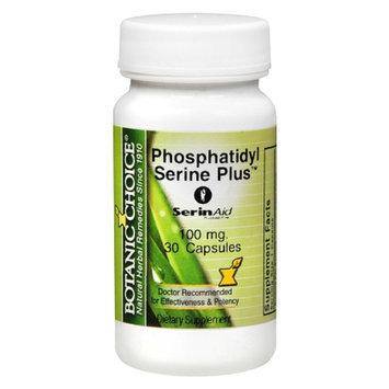 Botanic Choice Phosphatidyl Serine Plus 100 mg Capsules