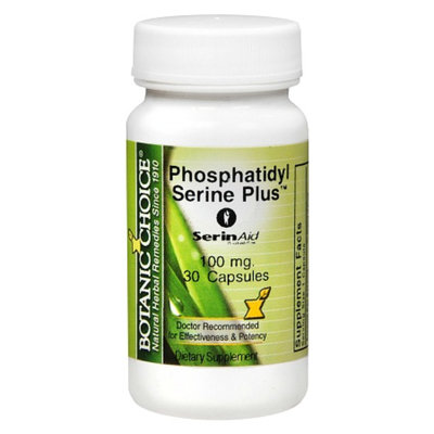 Botanic Choice Phosphatidyl Serine Plus 100 mg Capsules