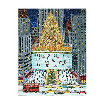 Briarpatch Rockefeller Center Jigsaw Puzzle: 500 Pcs