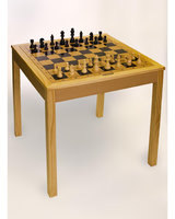 Sunnywood 4280 3 in 1 Wooden Game Table Chess