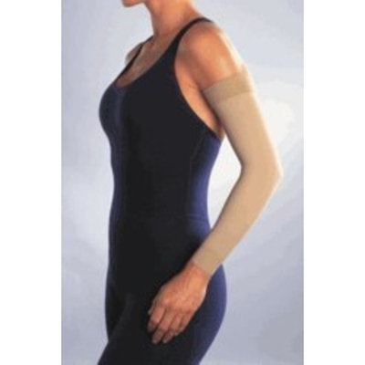 Jobst Women's 20-30 mmHg Arm Sleeve Size: Small, Color: Brown