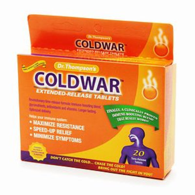 Dr Thompson COLDWAR Extended Release Tablets