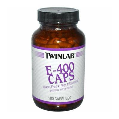 Twinlab 524801 E-400 Caps