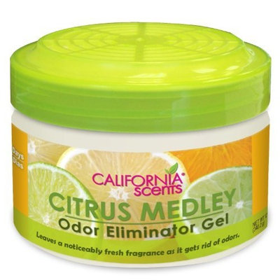 California Scents Odor Eliminator, Citrus Medley, 12-Ounce (Pack of 4)