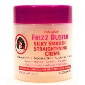 Fantasia Ic Fantasia Frizz Straightening Cream, 6 Ounce