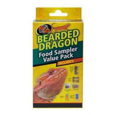 Zoo Med Laboratories SZMFSP2 Bearded Dragon Food Sampler