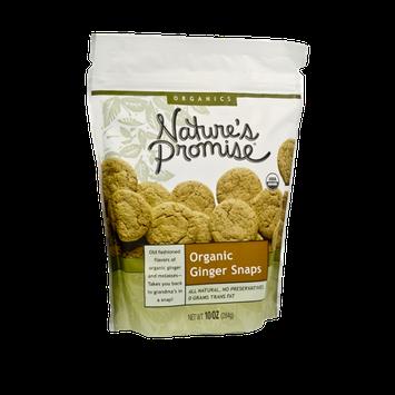 Nature's Promise Organics Organic Ginger Snaps Cookies