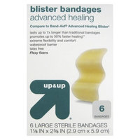 up & up up&up Hydrocolloid Blister Bandages - 6 Count